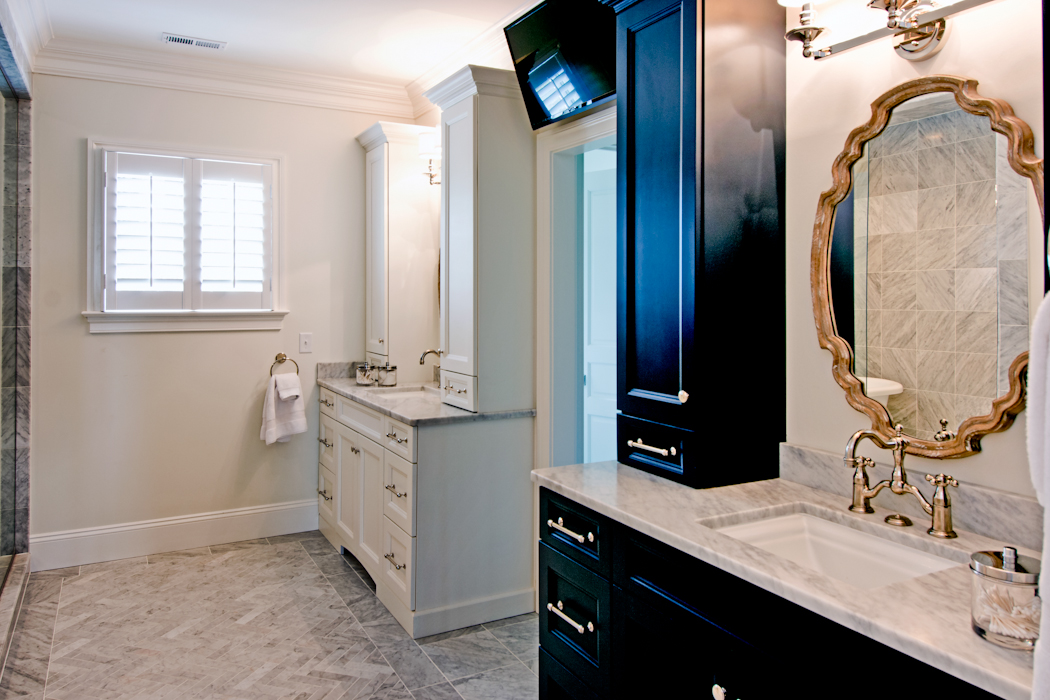 Baths by creative cabinetworks creative cabinet works for Bathroom remodeling williamsburg va