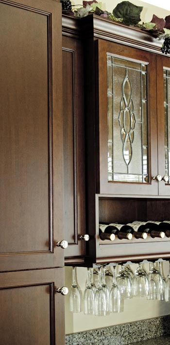 Custom Wine Cabinet by Creative Cabinetworks, Williamsburg, VA